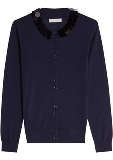 Nina Ricci Wool Cardigan with Sequins