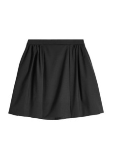 Nina Ricci Wool Mini Skirt
