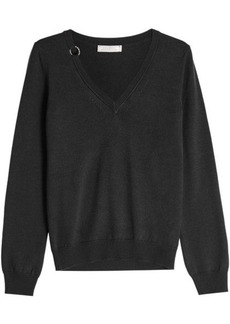 Nina Ricci Wool Pullover with Silk