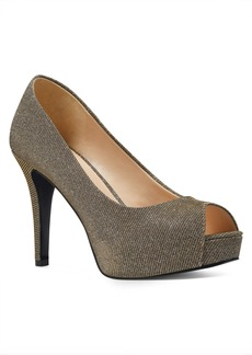 Nine West Camya Peep Toe Heels