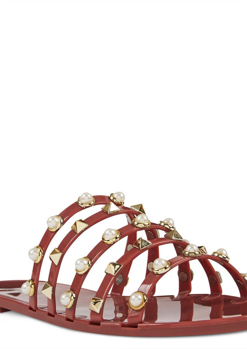 bacde6b0a7f Nine West Cariana Jelly Slide Sandals