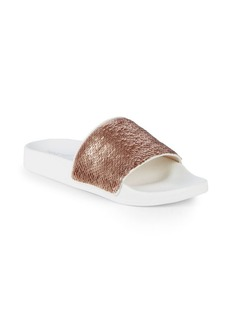 Nine West Ibise Sequin Slides