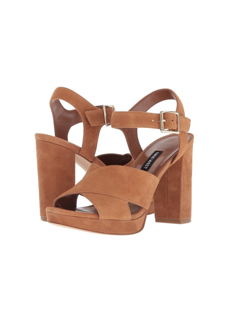 eb8c53682583 On Sale today! Nine West Jimar Platform Block Heel Sandal