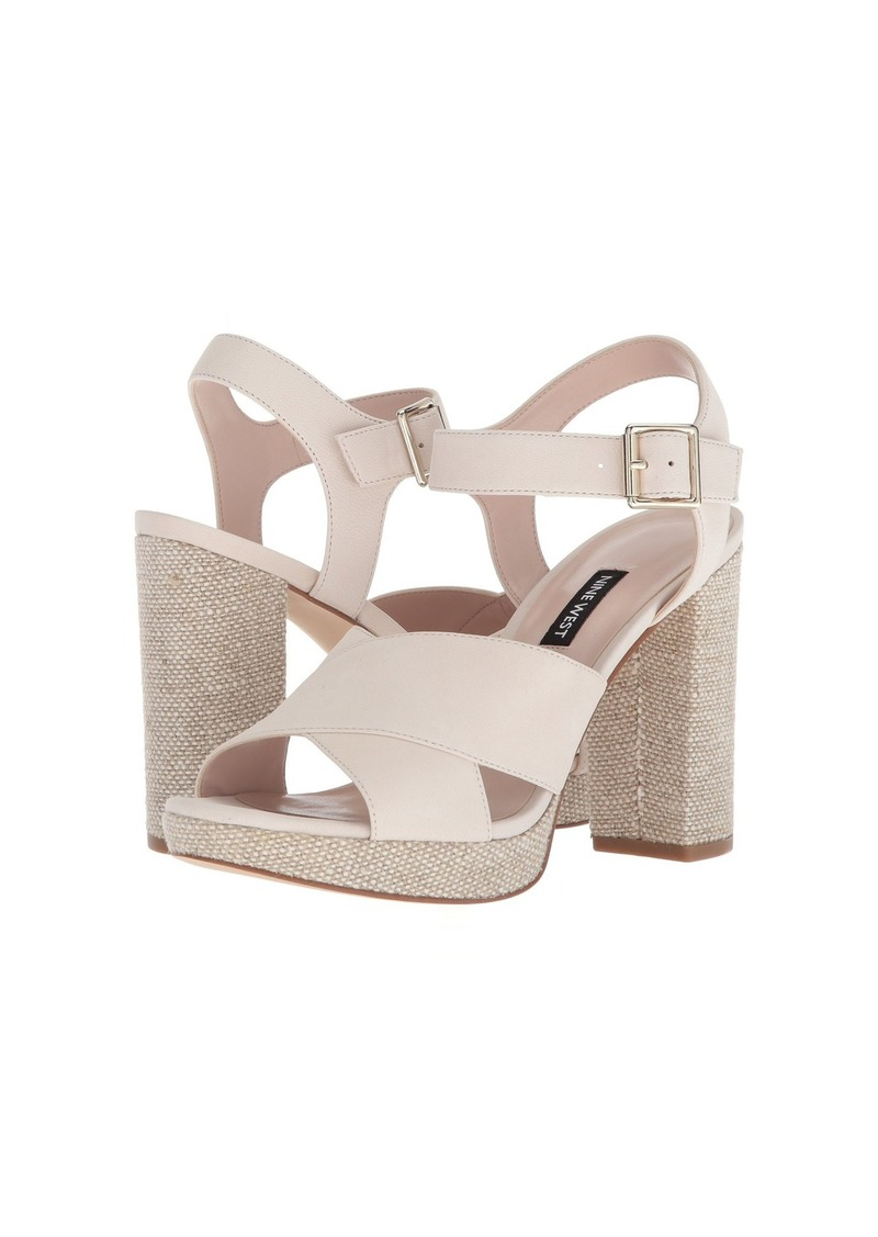 Nine West Jimar Platform Block Heel Sandal 6v4gxBlIso