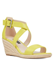 Nine West Jorgapeach Espadrille Wedges