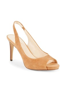 Nine West Known As Suede Slingback Pumps