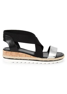 Nine West Molly Crisscross Wedge Sandals