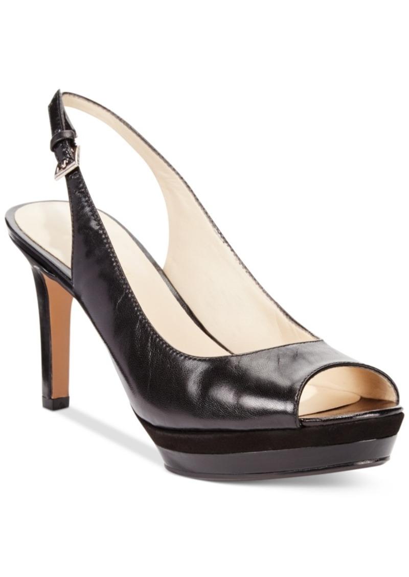 Nine West Able Mid-Heel Pumps Women's Shoes