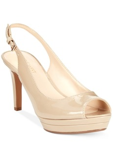 Nine West Able Mid-Heel Platform Pumps Women's Shoes