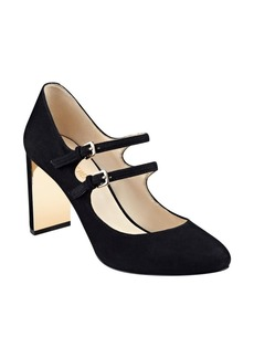 Nine West Academy Mary Jane Suede Pumps