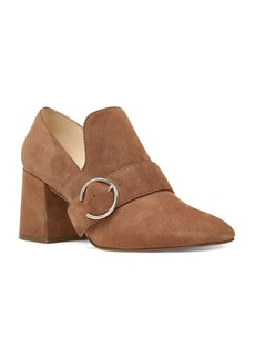 Nine West Alberry Block Heel Suede Pumps