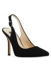 Nine West Women's Alison Snip Toe Slingback Pumps Women's Shoes