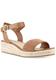 Nine West Allium Two-Piece Platform Wedge Sandals Women's Shoes