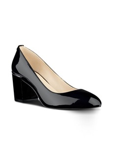 Nine West Astor Block Heel Pump (Women)