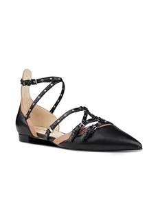 Nine West Aweso Pointy Toe Flat (Women)