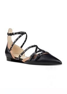 Nine West Aweso Strappy Pointy Toe Flats