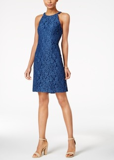 Nine West Beaded Lace Dress