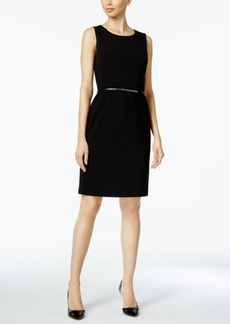 Nine West Belted Sheath Dress