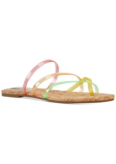 Nine West Benette Vinyl Slide Sandals Women's Shoes