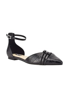 Nine West Brana Ankle Strap Flat (Women)