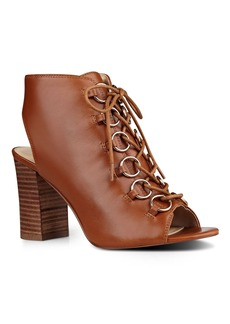 Nine West Bree Peep Toe Booties