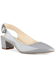 Nine West Brigitte Block-Heel Pumps Women's Shoes