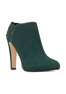 Nine West Burke Heel Strap Bootie (Women)