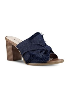 Nine West Byron Denim Sandals