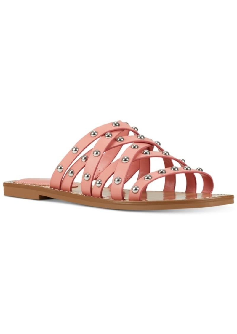 Nine West Candy Strappy Slide Sandals Women's Shoes