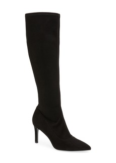 Nine West Carrara Knee High Pointy Toe Boot (Women)