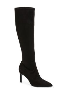 Nine West Carrara Knee High Pointy Toe Boot (Women)