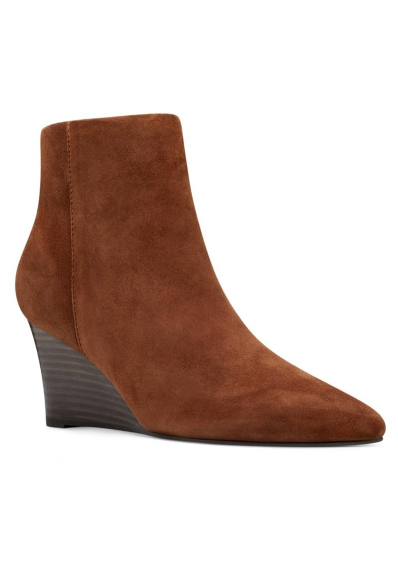 Nine West Carter Wedge Booties Women's Shoes