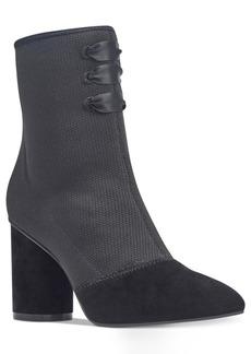 Nine West Cartolina Block-Heel Booties Women's Shoes