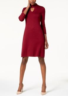 Nine West Choker Sweater Dress