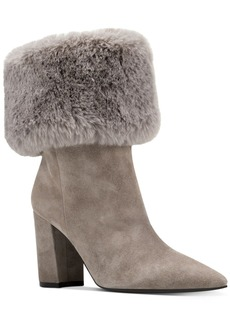 Nine West Chrissa Cuffed Booties Women's Shoes