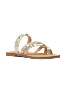 Nine West Clara Studded Toe Loop Sandal (Women)