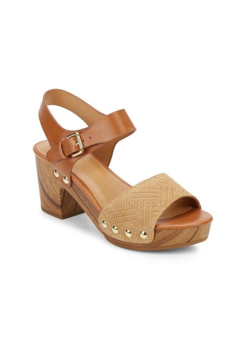 dfa1f79b3ac Nine West Nine West Clueless Wooden-Platform Clog Sandals Now  34.99