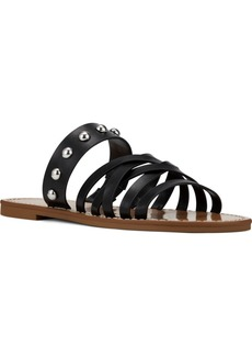 Nine West Colby Strapped Studded Sandals Women's Shoes