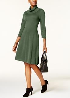 Nine West Cowl-Neck Sweater Dress