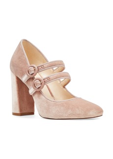 Nine West Dabney Double Strap Mary Jane Pump (Women)
