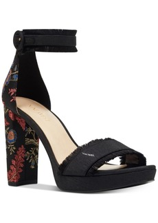 Nine West Daranita Platform Dress Sandals Women's Shoes