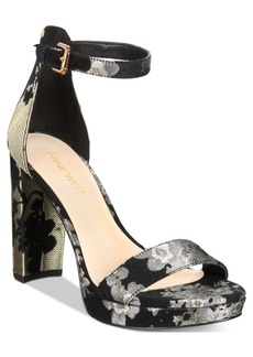 Nine West Dempsey Platform Dress Sandals Women's Shoes
