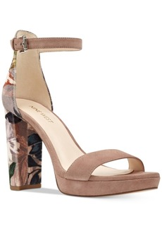 Nine West Dempsey Two-Piece Platform Sandals Women's Shoes