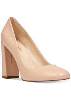 Nine West Denton Block-Heel Pumps Women's Shoes