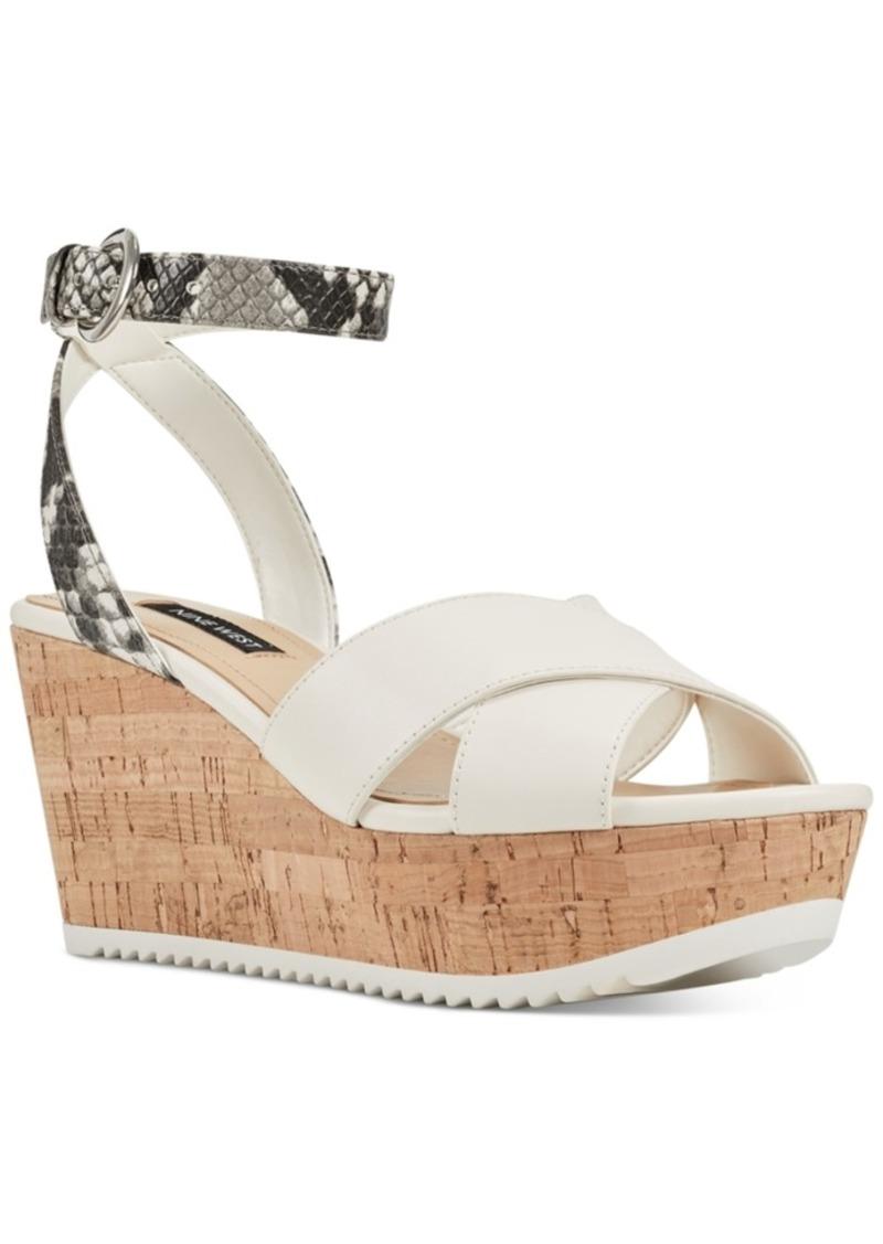 Nine West Dureen Platform Wedge Sandals Women's Shoes