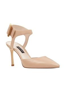 Nine West Elisabeti Leather Ankle-Strap Pumps