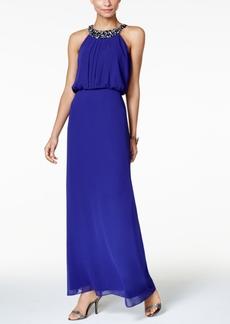 Nine West Embellished Maxi Dress