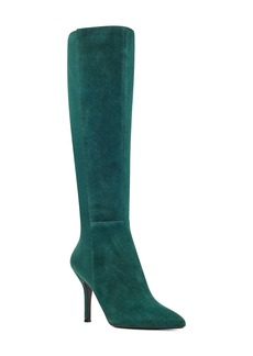 Nine West Fallon Pointy Toe Knee High Boot (Women)