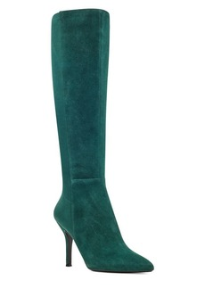 Nine West Fallon Stiletto Suede Boots