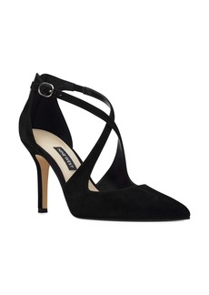 Nine West Fayla Crisscross Strap Pump (Women)